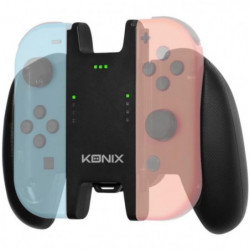 Accessoire Support Manette + Batterie Konix Play & Charge po