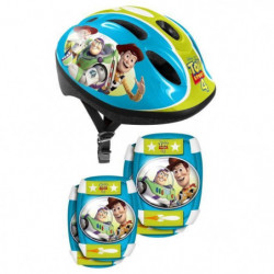 TOY STORY 4 Combo casque + genouilleres + coudieres