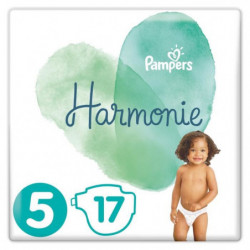 PAMPERS Harmonie Taille5, 11 kg+, 17Couches