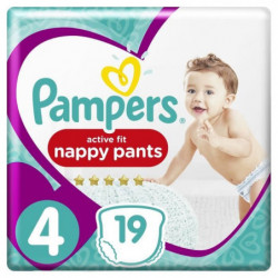 Pampers Premium Active Fit Pants Taille 4 8-14 kg - 19 Couch