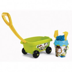 TOY STORY Smoby Chariot de Plage Garni