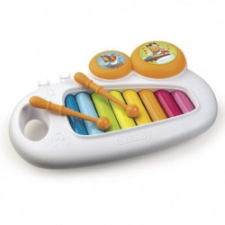 SMOBY Cotoons Xylophone + 2 Tambourins