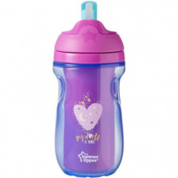 TOMMEE TIPPEE Explora Tasse à Paille Isotherme Fille 12m+