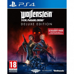 Wolfenstein : Youngblood Deluxe Edition Jeu PS4