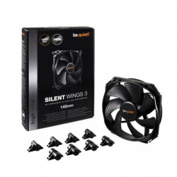 Be Quiet Ventilateur de boîtier SILENT WINGS 3 - PWM 140mm 96093