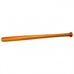 ABBEY Batte de baseball - 68 cm - Marron