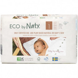 NATY Couches culottes écologiques T1x25 couches