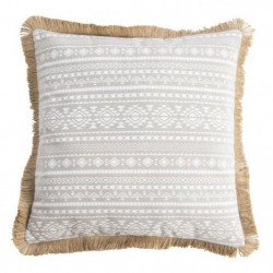 DEKO & CO Coussin imprimé et déhoussable Galapagos All-Over - 40