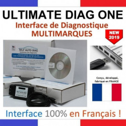 Valise diagnostic multimarques ULTIMATE DIAG ONE - Interface