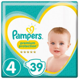 PAMPERS Premium Protection Taille 4 8-16 kg