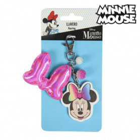 Porte-clés 3D Minnie Mouse 74130 Rose