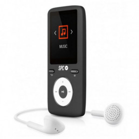 Lecteur MP4 SPC Pure Sound Colour 2 8 GB Noir