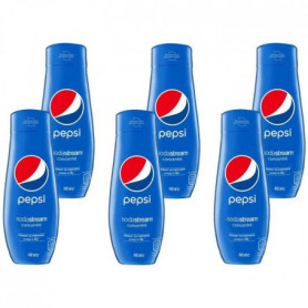 SODASTREAM Concentré PEPSI 440ml Lot de 6