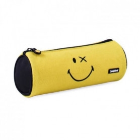 SMILEY WORD Fourre-tout rond Crazy Things - 23 cm - Jaune