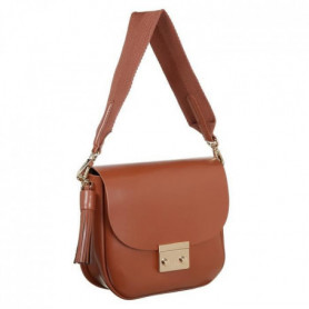 LACOSTE Sac Crossover NF2812TL Marron Femme