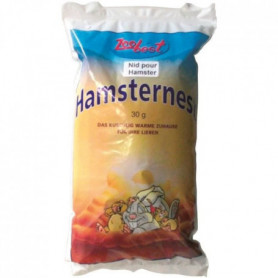 TYROL Nid en ouate blanc - Pour hamster - 30 g