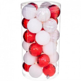 FEERIC LIGHTS & CHRISTMAS Kit de 30 boules de 60 mm