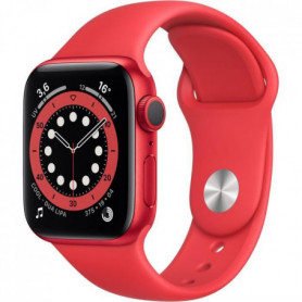 Apple Watch Series 6 GPS, 40mm Aluminium PRODUCT(RED) avec Bracelet Sport PRODUCT(RED)