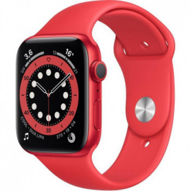 Apple Watch Series 6 GPS, 44mm Aluminium PRODUCT(RED) avec Bracelet Sport PRODUCT(RED)
