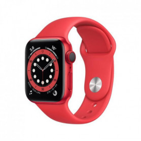 Apple Watch Series 6 GPS + Cellular, 40mm Aluminium PRODUCT(RED) avec Bracelet Sport PRODUCT(RED)