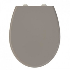 Abattant WC Fally 2 - thermodur - taupe