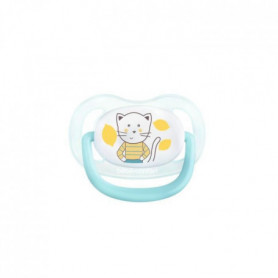BEBE CONFORT 2 Sucettes Physio Air Confort Silicone  18/36 - Bleu & Jaune - The