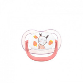 BEBE CONFORT 2 Sucettes Physio Air Confort Silicone  6/18  - Rose & Jaune - The