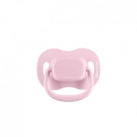 BEBE CONFORT 2 Sucettes Reversible Silicone 6/36 -  Rose - Simple Branding