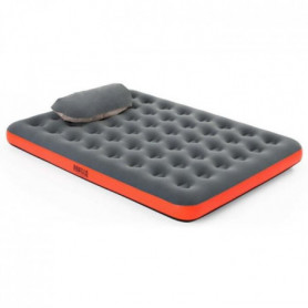 BESTWAY Matelas gonflable camping Pavillo - 2 places Roll & Relax - 203 x 152 x