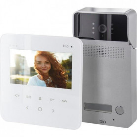 CHACON Visiophone filaire Multiappartements 4.3''