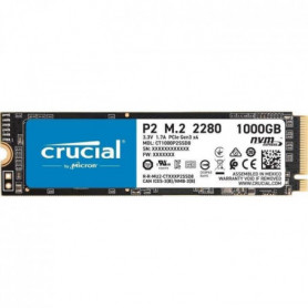 Crucial - P2 1To 3D NAND NVMe PCIe M.2 SSD (CT1000P2SSD8)