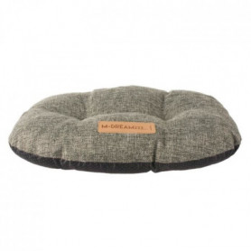 MPETS Coussin oval OLERON - Pour chien - M - Gris anthracite