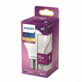 Philips Ampoule LED Equivalent 75W E27 Blanc chaud Non Dimmable