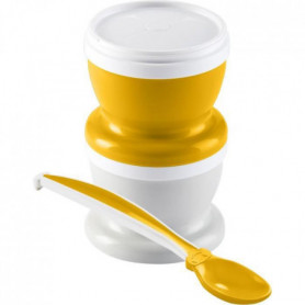 THERMOBABY 2 PETITS POTS POUR NOURRITURE Ananas