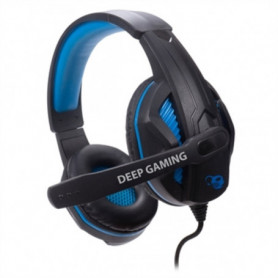 Casque avec Microphone Gaming CoolBox deepBLUE G3