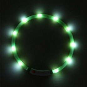 Collier Vert Lumière LED (Refurbished A+)