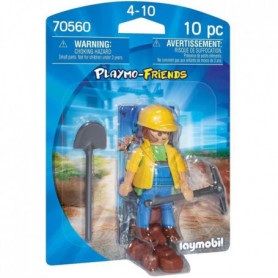 PLAYMOBIL - 70560 - Ouvrier