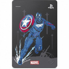 SEAGATE - Disque Dur Externe Gaming PS4 - Marvel Avengers Assembled - 2To - USB