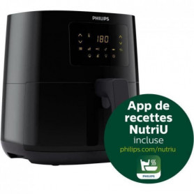 PHILIPS HD9252/90 Airfryer Essential Compact - Friteuse - 0.8kg - Rapid Air - Ec
