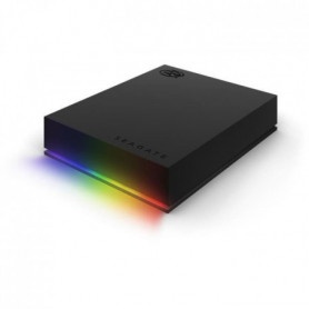 SEAGATE Disque dur 5 To FireCuda Gaming HDD + customizable RGB - Compatible Raze