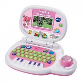 VTECH - Ordi P'tit Genius Ourson Rose - Ordinateur