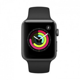 Apple Watch Series 3 GPS, 42mm Boîtier en aluminium gris sidéral